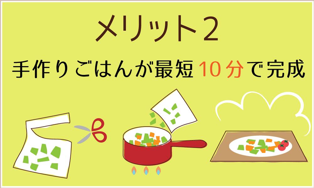 宅配ミールキットで栄養満点の手作りごはんが最短10分で完成
